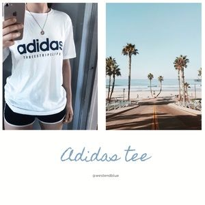 •ADIDAS• short tee